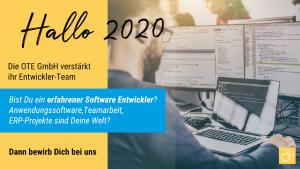 Karriere Software Entwickler bei der OTE GmbH