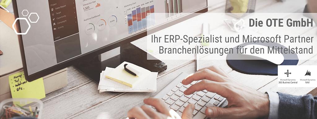 Projektmanagement der OTE GmbH