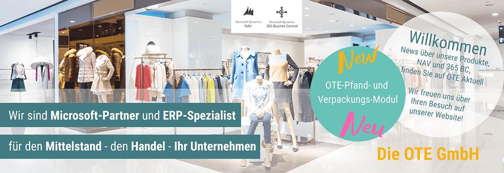 Willkommen bei der OTE GmbH