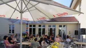 Sommerfest Terrasse