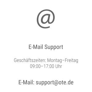 OTE E-Mail Support