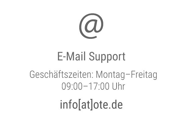 Schreiben Sie uns eine Mail