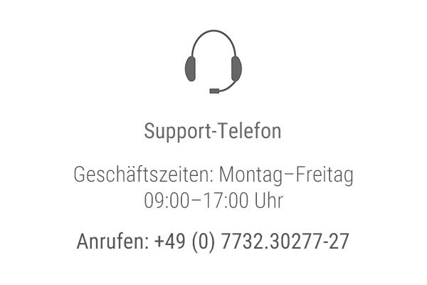 Kontaktkachel-Telefon-Support