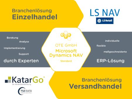 OTE Portfolio - 2 Branchenlösungen und NAV Standard
