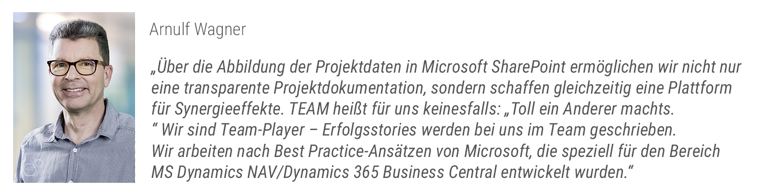 Projektmanagement - Arnulf Wagner
