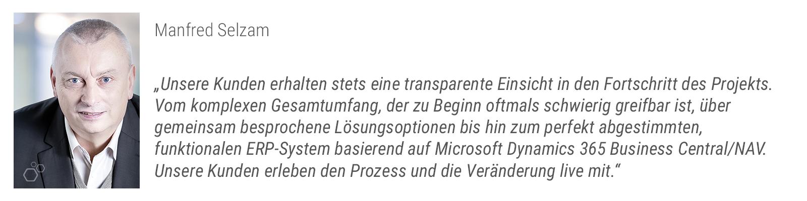 Projektmanagement - Manfred Selzam