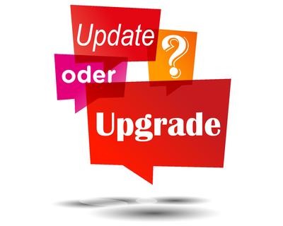 Update oder Upgrade - Microsoft Dynamics NAV