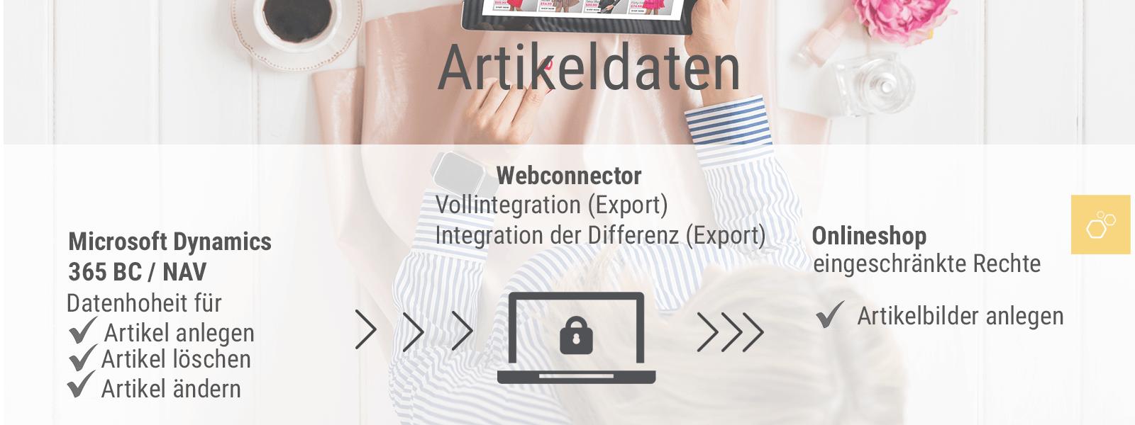 OTE GmbH Webconnector-Artikeldaten-V1